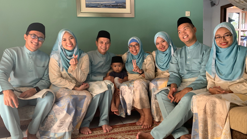 Family Portrait Eid 2019
