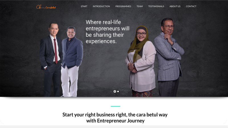 Entrepreneur Journey by Carabetul