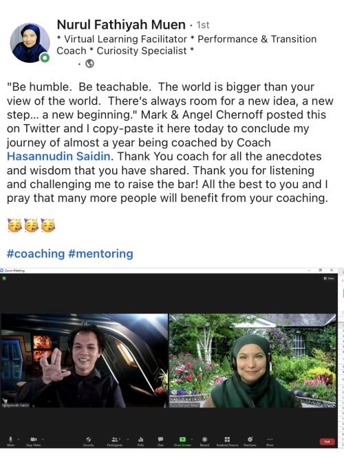 Testimonial from Nurul